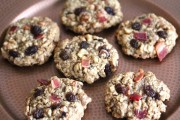 bacon raisin oatmeal cookies 1