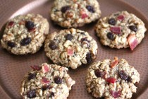 bacon raisin oatmeal cookies 1