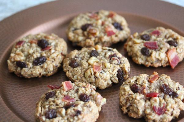 oatmeal raisin cookies bacon oatmeal and raisin cookies recipe yummly ...