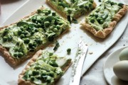 English Pea and Ricotta Tart copy
