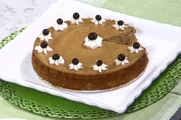 Espresso and Irish Whiskey in a Creamy Cheesecake