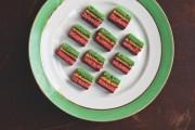Saveur Rainbow cookies