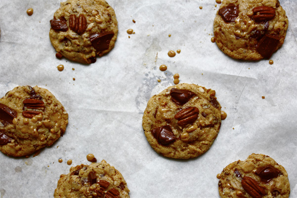 convection cookies on pan