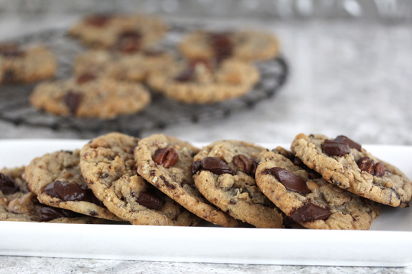 convection cookies on plate