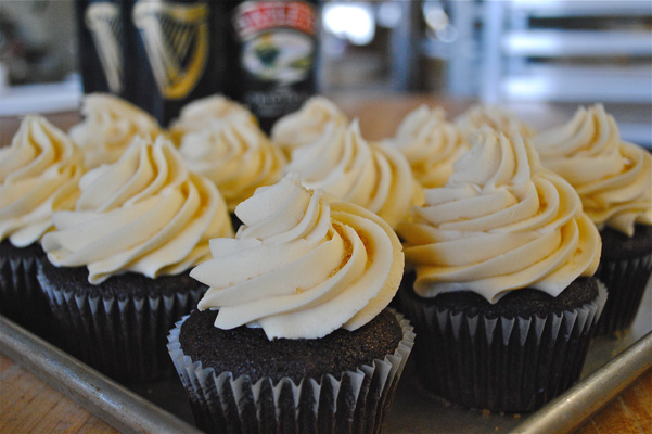 stout cupcakes