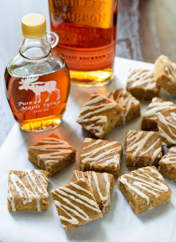 Maple-Brown-Sugar-Bourbon-Bars-with-Brown-Butter-and-Bourbon-Glaze