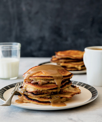 Butterscotch Pancakes