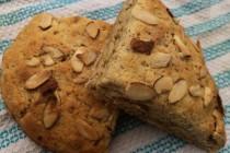 Almond scones slider