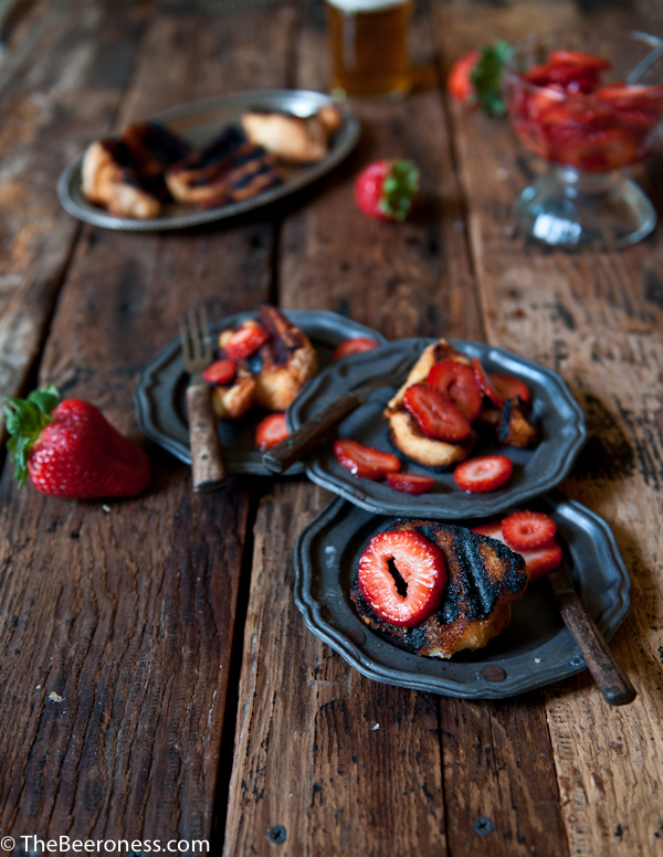 Grilled-Angel-Food-Cake-with-Beer-Macerated-Strawberries-2