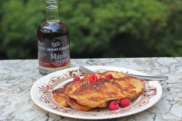 maple syrup with FrenchToast