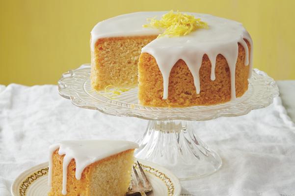 French Lemon Cake With Lemon Glaze Recipe Bakepedia