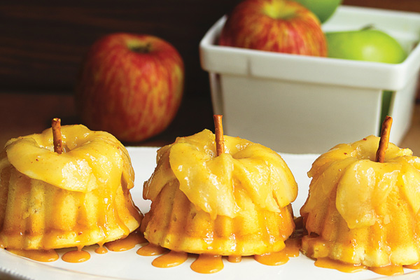 6 caramel apple cakelettes edited4
